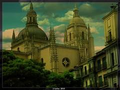 ..SEGOVIA.. (((((((-charly-)))))) Tags: canon atardecer iglesia antigua segovia imagenes pueblos 2010 450d platinumphoto vosplusbellesphotos travelsofhomerodyssey