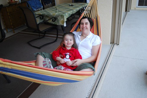 hammock with Mama