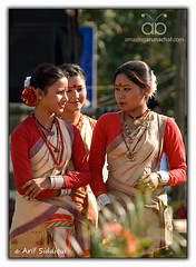Pangsau Pass Winter Festival 2010: Bihu Girls from Assam (Arif Siddiqui) Tags: travel costumes girls portrait people woman india green heritage history tourism nature colors beauty festival portraits landscape dance glamour colorful asia paradise folk traditional wwii scenic festivals culture lifestyle places tribal east hills dresses tribes serene local raod tradition ethnic assam northeast cultures cultural arif arunachal pristine ledo stillwell dances cemtery changlang tribals siddiqui arunachalpradesh northeastindia bihu jairampur peopleofindia attires arunachalpradeshindia nachoni pangsaupass nampong arunachali pangsaupasswinterfestival ppwf ppwf2010