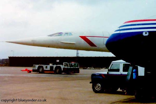 Concorde and Vickers Viscount!