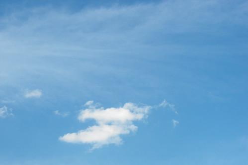 El cielo claro de estos días