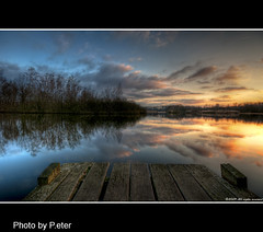Fisherman's jetty in Mol (pDOTeter) Tags: sunset nature water landscape europe gallery belgium material subject technique legacy hdr mol ptgui wonderworld photomatix coth sigma1020 tmba nikond90 nikonflickraward artistictreasurechest nikonflickrawardgold platinumpeaceaward nikonflickrawardplatinum wonderworldgallery