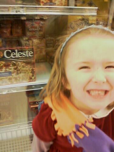 Celeste Discovers Frozen Pizza