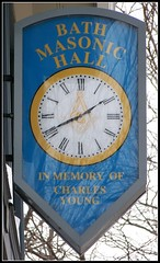 Bath Masonic Hall clock (Will S.) Tags: signs ontario canada clock sign circle bath order masonry craft fraternity lodge masonic freemasonry brotherhood society mypics brethren squareandcompass masonichall francmacon freemasonic masonicclock bathmasonichall mapleleaflodge