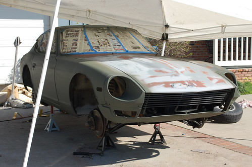 240z painting pt 1