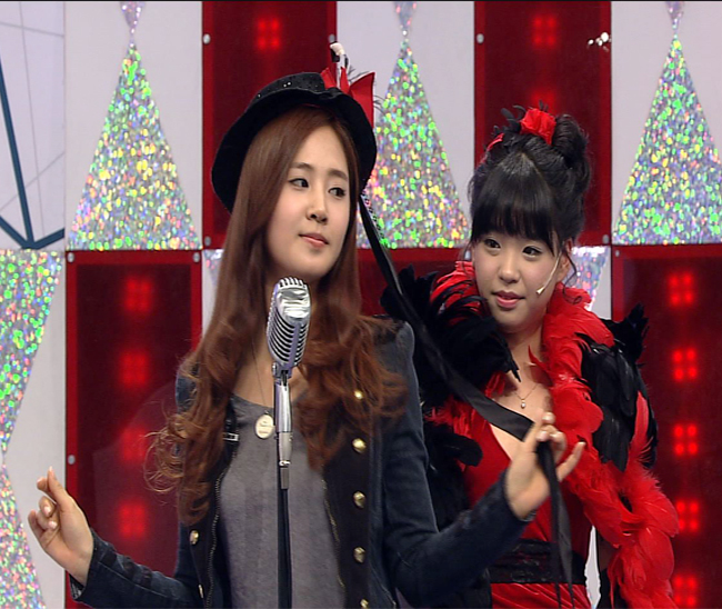 [Caps] SNSD Yuri and Jessica on Star King *YulSic*