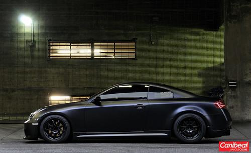 Zack's Matte Black Infiniti G35 Coupe