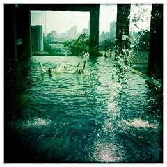 Decompression (thirtyoneteeth) Tags: pool thailand bangkok iphone decom flybutter sgoralnick hipstamatic