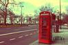 (- M7D . S h R a T y) Tags: street uk morning london unitedkingdom telephone parklane redtelephonebox wordsbyme london2010 ®allrightsreserved™