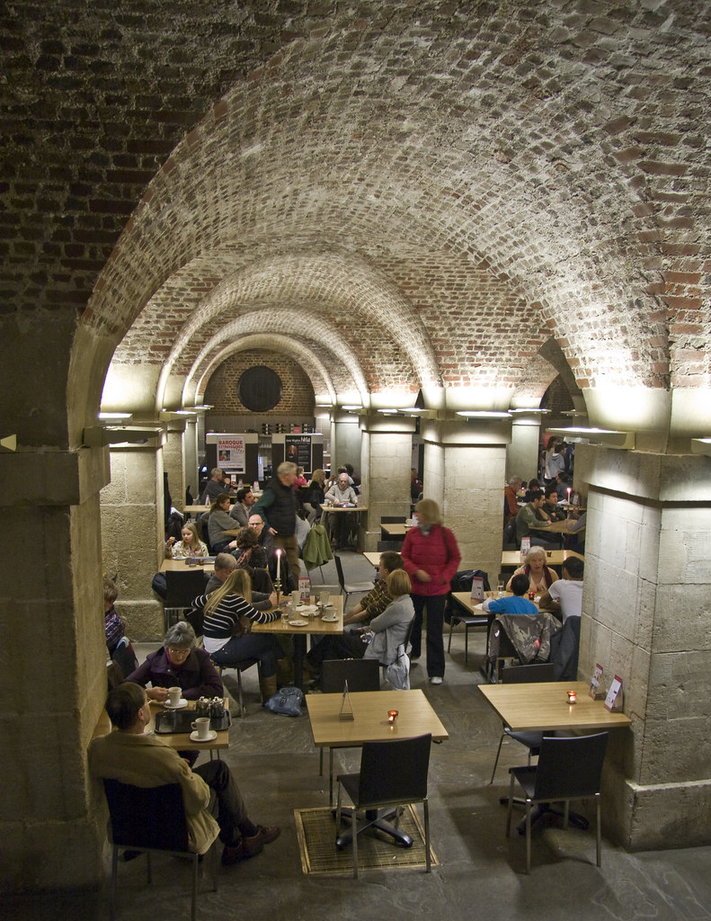 St Martin-in-the-Fields, Café in the Crypt. Photo by Michael Soane