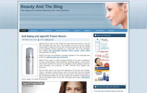 Beauty and the Blog