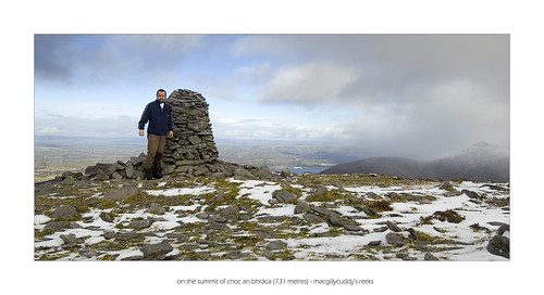 On the summit of Cnoc an Bhraca