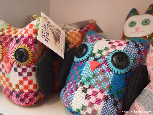 handmade toy owls