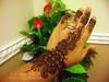 Henna simple strip © NJ's Unique Henna Art © NJ's Unique