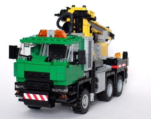 Lego Crane Truck Lego Crane Truck