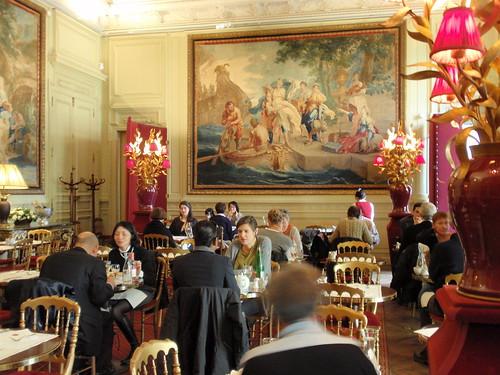 Jacquemart-Andre tearoom