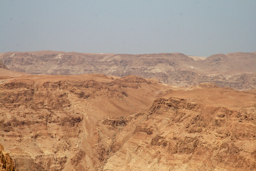 Wilderness seen from Masada