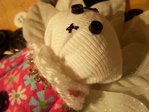 A Spring Night Art Doll Head