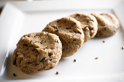 Flax Maple Cookies