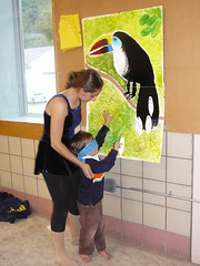 para la tierra bonk for the bellbirds pin the feathers on the toucan