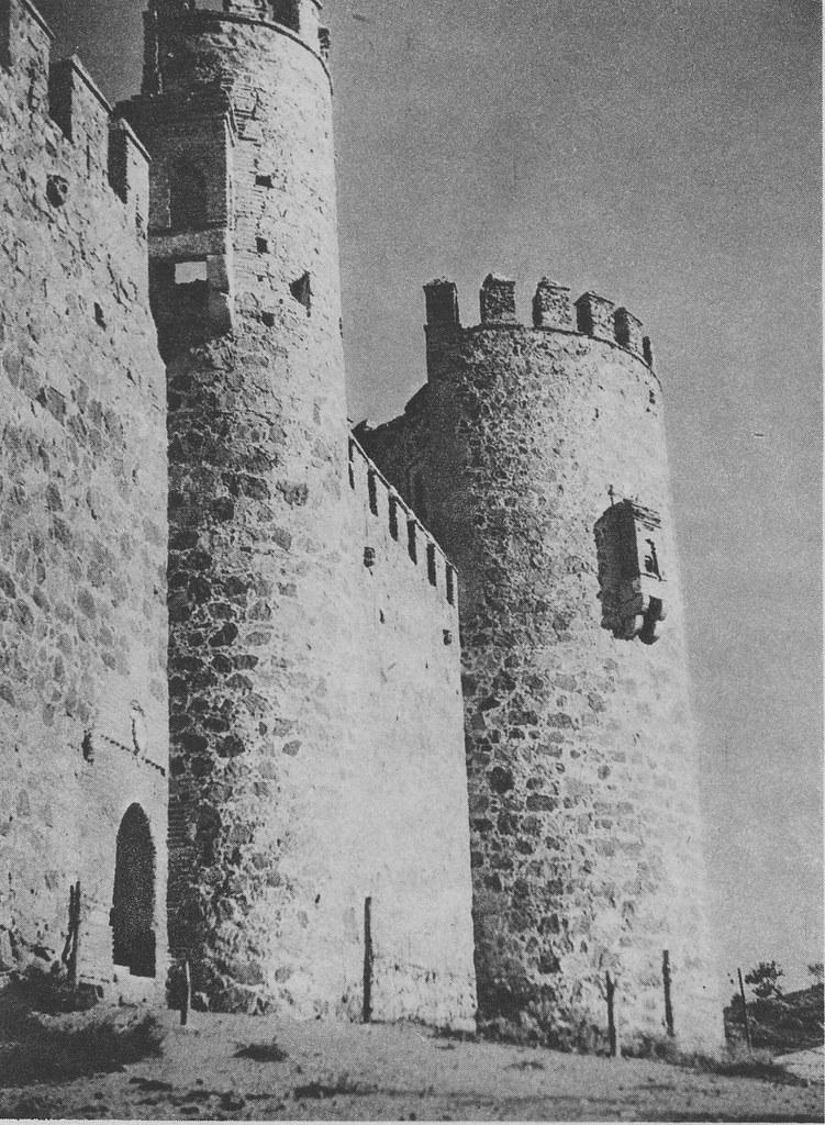 Castillo de San Servando a principios del siglo XX