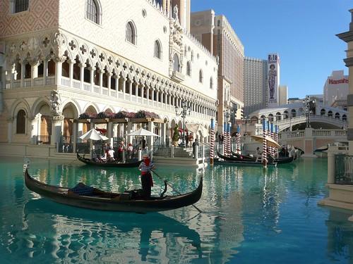 L'exterieur du Venetian Hotel