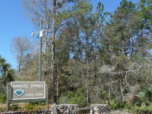 manatee springs state park.
