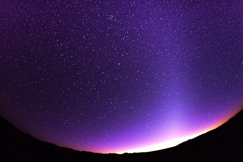 [フリー画像] 自然・風景, 空, 夜空, 星・スター, パープル, 201003180700