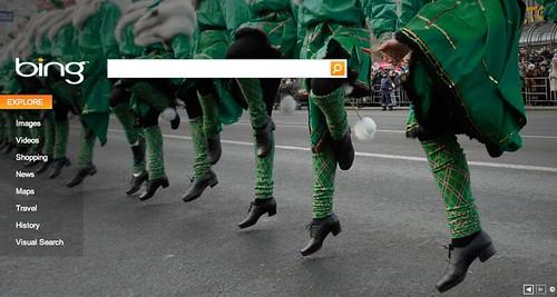 St. Patrick's Day at Bing