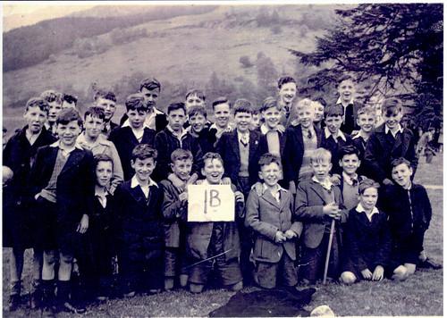 Govan High class 1B, Lochgoilhead, May 1937.