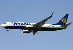 EI-DAN - 33549 - Ryanair - Boeing 737-8AS - Standsted - 060926 - Steven Gray - CRW_7898