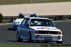BMW M3 (Craig O'Brien) Tags: classic melbourne mobil racing historic bmw phillipisland m3 e30 motorsport 2010