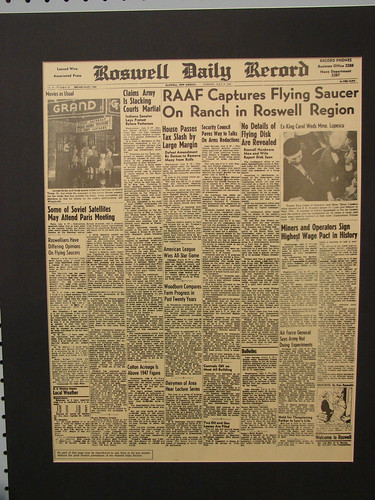 Roswell Daily Record: RAAF Captures Flyi by Wesley Fryer, on Flickr