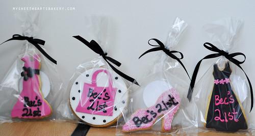 BIrthday Girl 21st Cookies