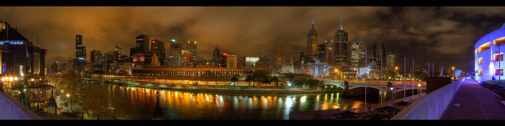 Melbourne CBD HDR Panorama