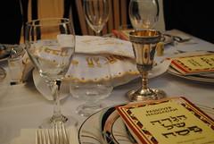Passover (suchafabrication) Tags: dinner glasses march nikon monica jew jewish hebrew dslr setting 2010 passover chalice sedar haggadah d3000 nikond3000 monicaschwerberg schwerberg