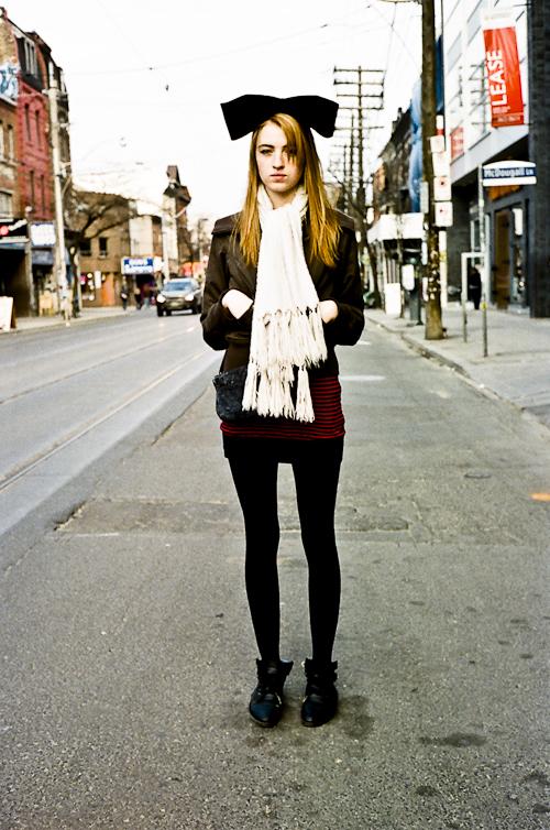 Bunny Ears, Toronto Street Fashion @ Queen St. W., Toronto