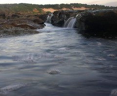 The things you do...... (pominoz) Tags: sea rocks waves nsw centralcoast soldiersbeach faderndfilter faderfilters