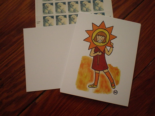 sunshine postcards!