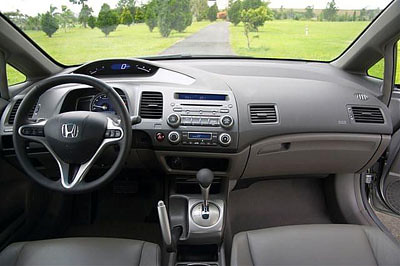 new civic interior