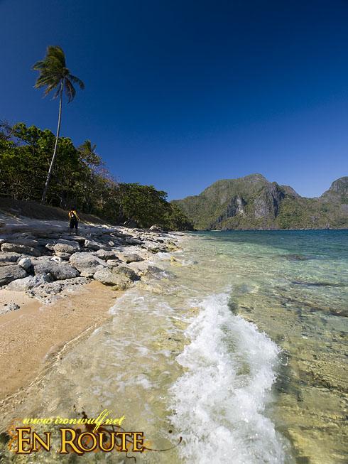 El Nido Helicopter Island Beach Waves