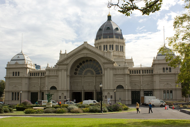 Royal Exhibition Building Eastern Entrance