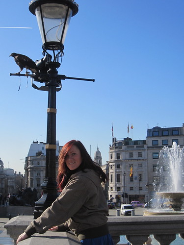 Eagle in Trafalgar Square