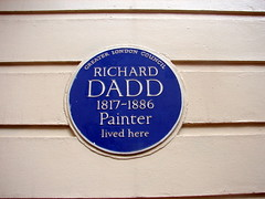 Photo of Richard Dadd blue plaque