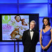 A Dog Named Christmas' Noel Fisher and Two and a Half Men's Jennifer Taylor introduced the Outstanding Written Word winners