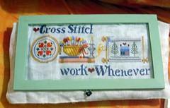 W.i.p. Cross stitch Forever - JJ