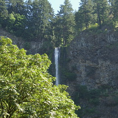 Multnomah Falls @ lunchtime