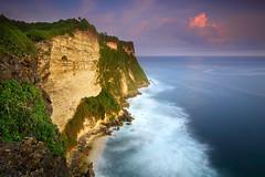 Close Your Eyes - East Cliff, Uluwatu (tropicaLiving - Jessy Eykendorp) Tags: bali seascape nature canon indonesia landscape photography outdoor lee uluwatu filters hoya ndx400