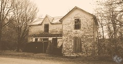 Save Me (Dark Scene Photography) Tags: old house ontario canada abandoned sepia decay sony collapse dslr princeedwardcounty a500