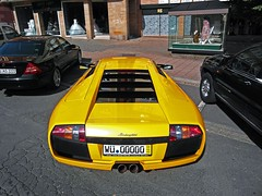 Lamborghini Murcielago (europeanspotter) Tags: yellow photography hp nuremberg ps lamborghini nrnberg murcielago v12 obstmarkt frankenspotter